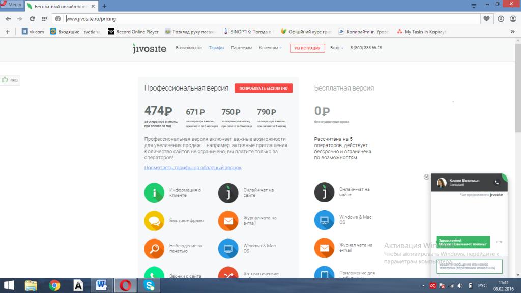 jivosite - огромный функционал за смешные деньги!
